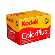 Kodak ColorPlus 200 ASA 35mm Colour Print Film 135-36 Exposure