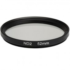 161449 ND2 49mm Neutral Density ND Lens 1 Stop Filter