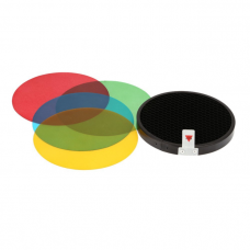 AD-S11 Photography Color Filter Gel Pack with Honeycomb
