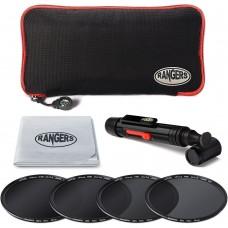 Rangers 49-82mm  ND 2 4 8 16 Lens Filter Kit