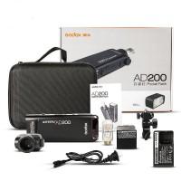 Rental Godox AD200 TTL HSS 2.4G 1/8000 Wireless Pocket Double Head Flash
