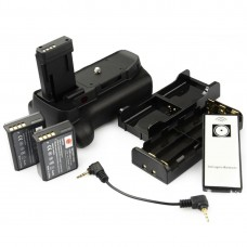 Canon Vertical Battery Grip Plus Remote Plus 2x LP-E10 For Canon EOS 1100D, 1200D, 1300D,