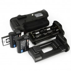 Nikon MB-D12H Battery Grip with Remote plus 2x EN-EL15 For Nikon D800