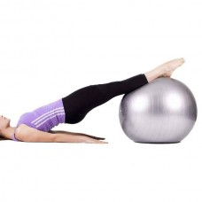 37811 65 CM GYM YOGA BALL EXERCISE SWISS FITNESS PREGNANCY BIRTHING ANTI BURST + PUMP