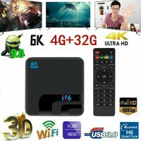 H6 Smart TV Box Android