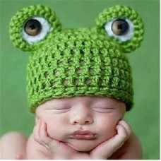 Baby Kawaii Frog Cartoon Hat
