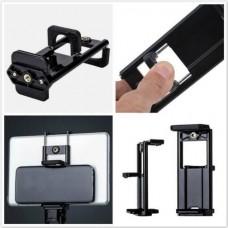 08644 Universal Tripod Holder Phone clip range 55-85mm Tablet  clip 110-185mm