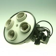 4in1 E27 Socket Adapter Holder