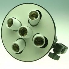 5 in 1 E27 Bulb Holder Adapter for Studio