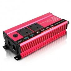 Inverter 1500W Car DC 12V to AC 240V Power Inverter Charger Converter