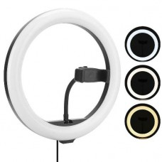 "29144 10"" LED Ring Light for Phone Camera Live Makeup Video"
