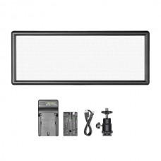 29445 Neewer 144 pcs Dimmable Bi-color LED Video Light Kit with LCD Display