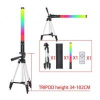 29446 RGB Light Stick Wand Photo Video Lighting
