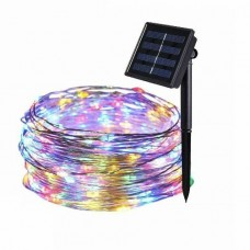 38612 LED Solar String Lights Waterproof Copper Wire Fairy Outdoor Garden Party