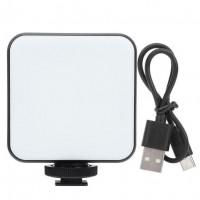 29328 W64 Bi-color Conference Lighting Kit LED Video Light for DSLR Camera