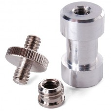 "1/4"" 3/8"" Tripod Mount Screw Convert Adapter"