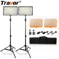160 LED Video Lighting 2 Lamps Kit
