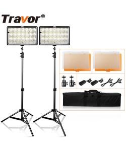 160 LED Video Lighting 2 Lamps Kit