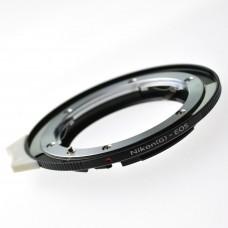 K&F Concept Lens Adapter Nikon(G)- EOS