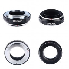 K&F Concept Lens Adapter Nikon S  Lens To Fujifilm FX Mount