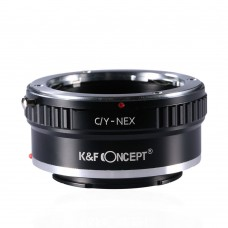 K&F Concept Lens Adapter Contax Yashica to Sony NEX E-mount