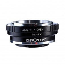 K&F Concept Lens Adapter Canon FD Lens To Fuji X