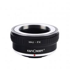 K&F Concept Lens Adapter M42 Lens mount to Fuji FX