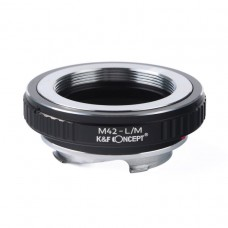 K&F Concept Lens Adapter M42 Lens mount to Leica LM