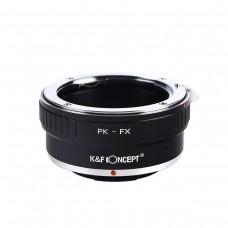 K&F Concept Lens Adapter Pentax K PK Mount to Fujifilm X Mount
