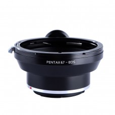 K&F Concept Lens Adapter Pentax 67 To Canon EOS