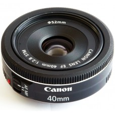 Canon EF 40mm f/2.8 STM Lenses