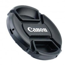 49-82mm Center Pinch Snap-on Front Lens Cap Cover for Canon