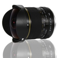 8mm F3.5 Aspherical Fisheye Lens For Nikon F-mount Or Canon EF-Mount