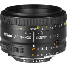 Nikon AF NIKKOR 50mm f/1.8D