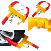 251012 Wheel Clamp Cars Trailer Caravan Security Anti Theft