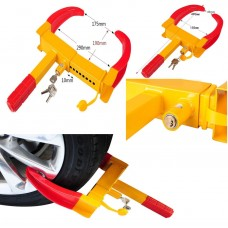 251012 Wheel Clamp Cars Trailer Caravan Security Anti Theft