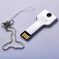 16GB Waterproof Metal Key Flash Memory Drive Stick