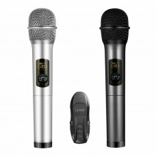 K18U Wireless Radio 2x Microphone System