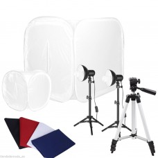 80cm-40cm Softbox Cube Tent Photo Studio 45W Light Kit
