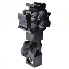 Swivel Triple Mount Speedlight Umbrella Holder