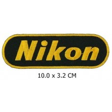 NIKON CAMERAS - Embroidered Iron-On Patch
