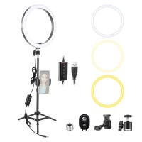 29411 Neewer 10-inch LED Ring Light with 35-inch Tripod Stand