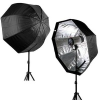 80cm Octagonal  Softbox Light Stand Kit