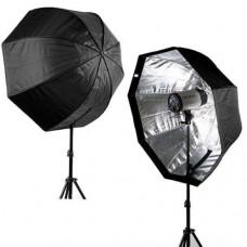 80cm Octagonal  Softbox Light Stand Kit