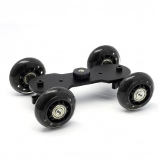 4-wheel Table Dolly Car DSLR Camera Camcorder