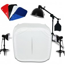 80cm Softbox Cube Tent Photo Studio 45W Light Kit