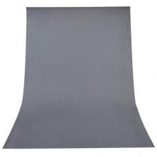 3m x 3.6m Grey Muslin Background