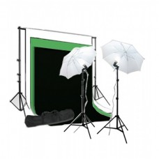 Umbrella Kit 1.6 x 2m Non Woven Choose Color Background 250W