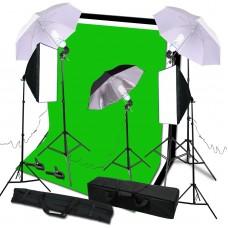 585W Softbox Soft Box Umbrella Light Lighting Stand Backdrop Kit