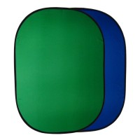 150x200cm Green Blue Collapsible Light Ellipse Background